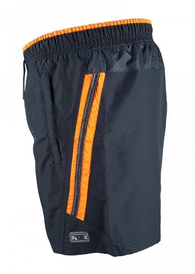 Мъжки шорти Raymond 150grey/orange