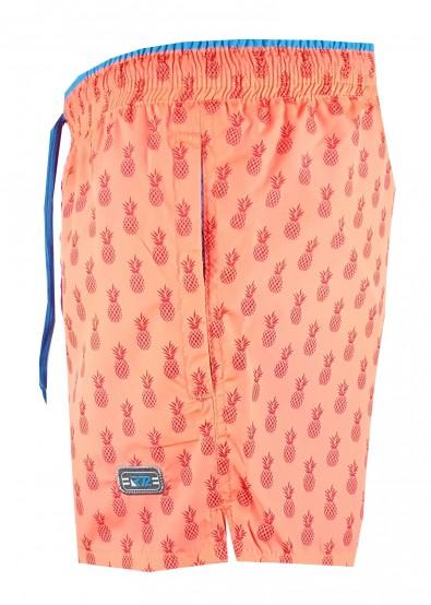 Мъжки шорти Raymond orange/ananas