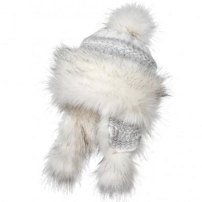 Ефектна зимна шапка 670076