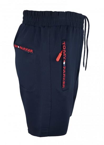 Мъжки къси панталони Tommy/blue